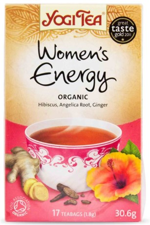 Yogi Tea Womens Energy, Livsmedel - Yogi