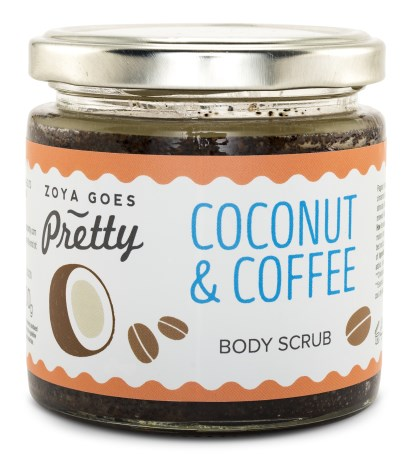 Zoya Goes Pretty Body Scrub Coconut & Coffee - Zoya Goes Pretty