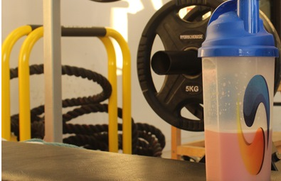 Proteindrink i gymmet