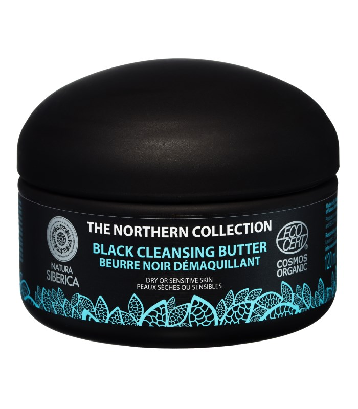 Natura Siberica Northern Black Cleansing Butter, Smink - Natura Siberica