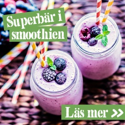 Superbär i smoothien