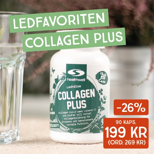 -26% på Collagen Plus.