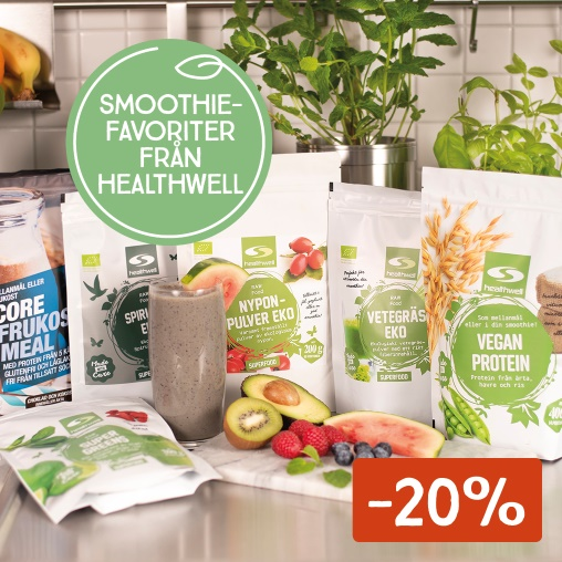 -20% på smoothiefavoriter
