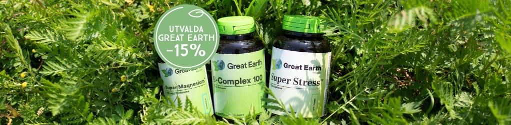 Great Earth energi, stress -15%