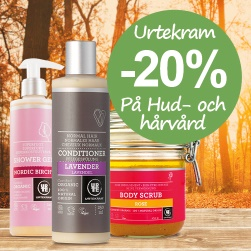 Urtekram body & hair -20%