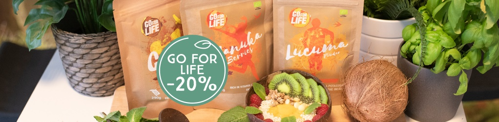 Go For Life -20%