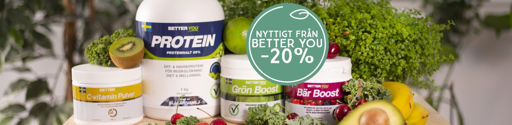 Better You smoothiefavoriter -20%
