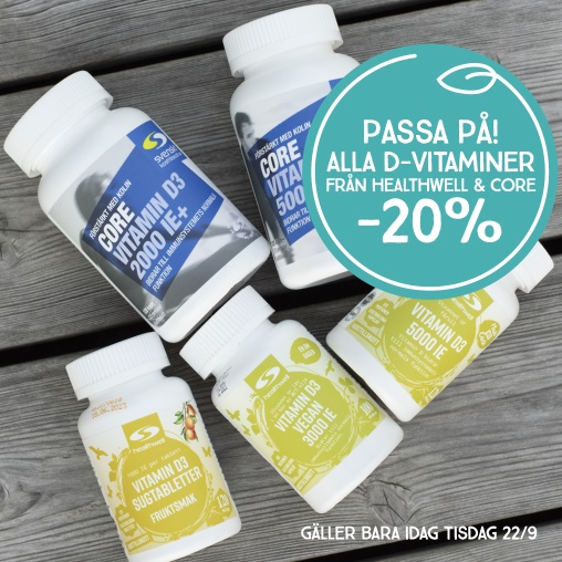 Alla D-Vitaminer -20%