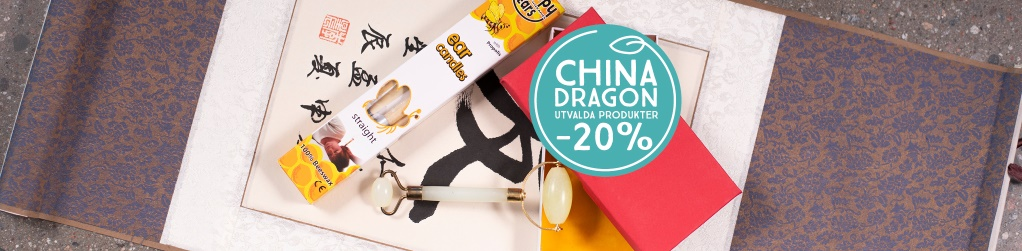 Utvalt från China Dragon -20%