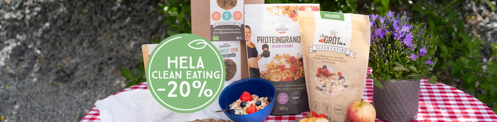 Hela Clean Eating -20%